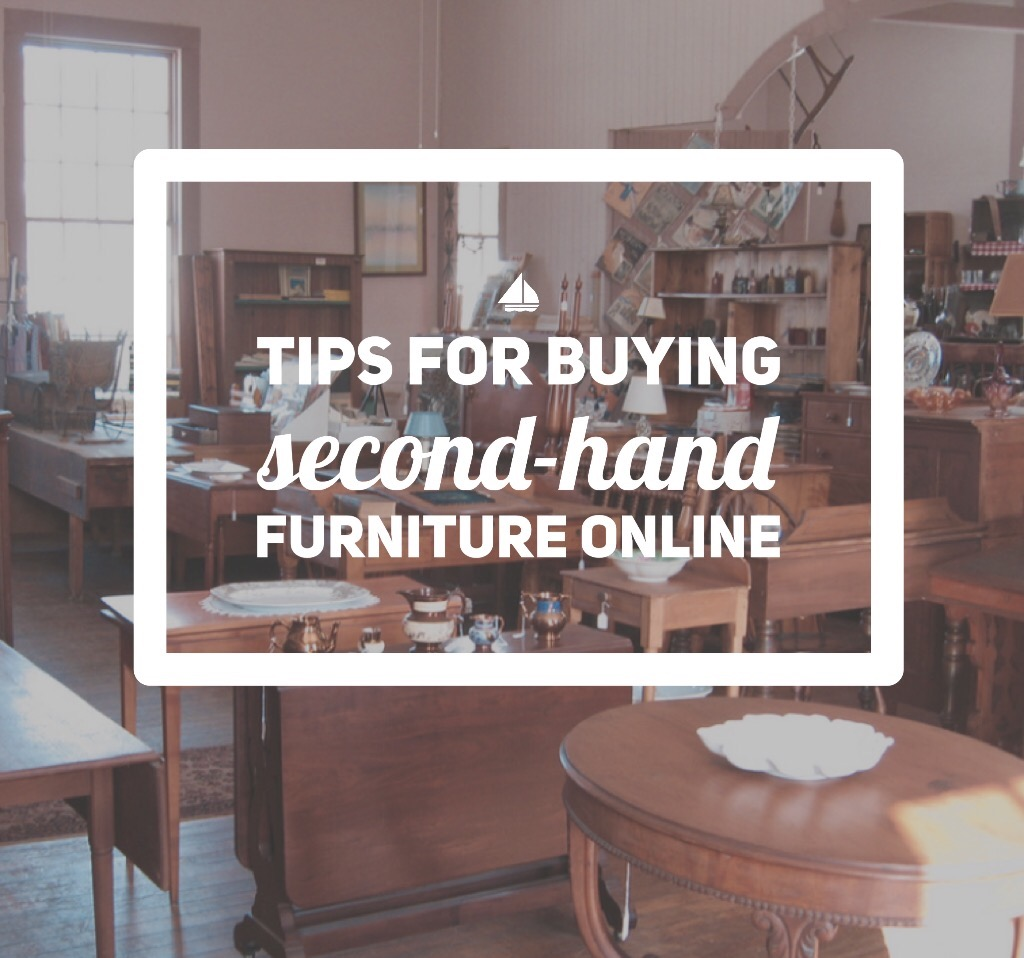 Tips for buying second-hand furniture online