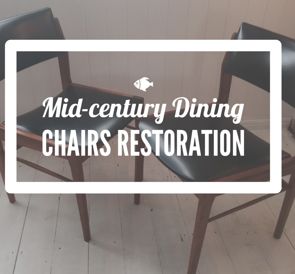 Mid-Century Dining Chairs Restoration