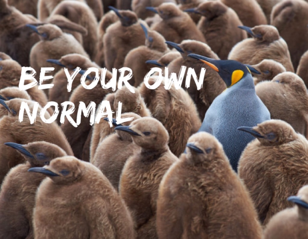 Be your own normal