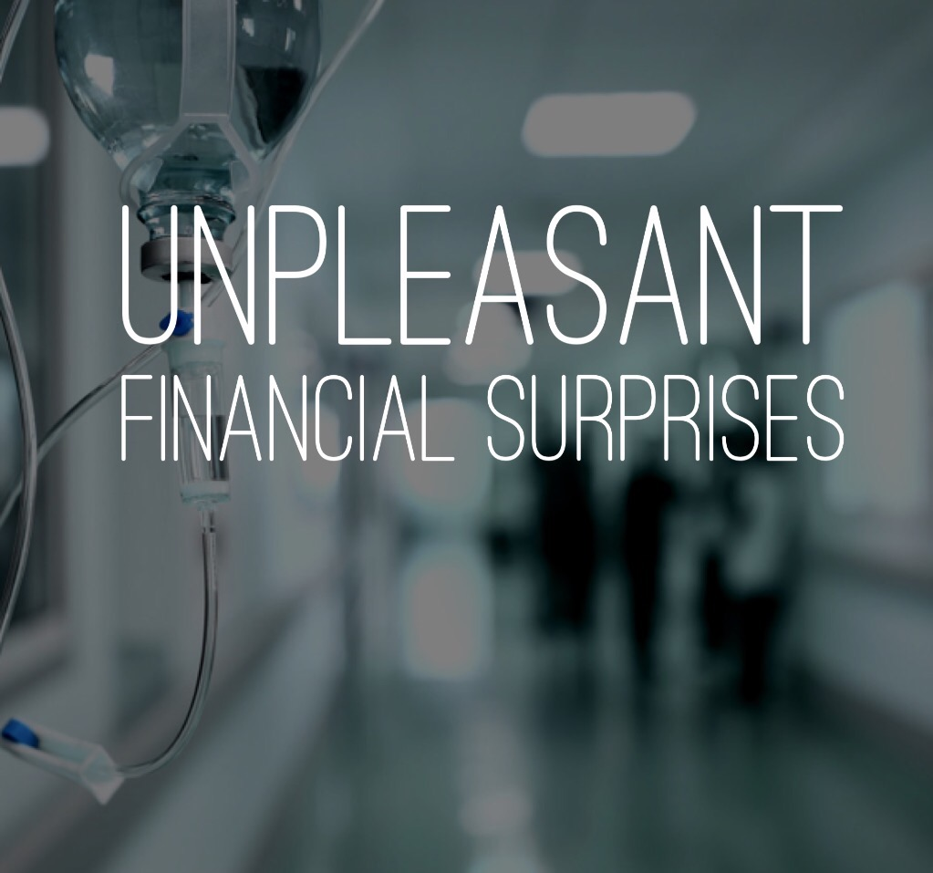 Unpleasant financial surprises
